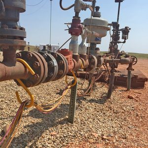 Large S Hooks Organize Cords And Cables At Wellheads To Prevent Trip Hazards
