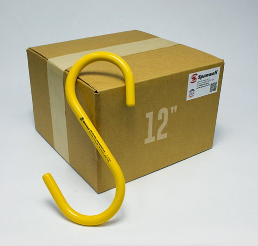12″ S Hook (Box Of 25)