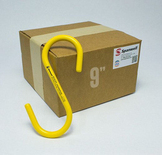 "9"" S Hooks box of 25"
